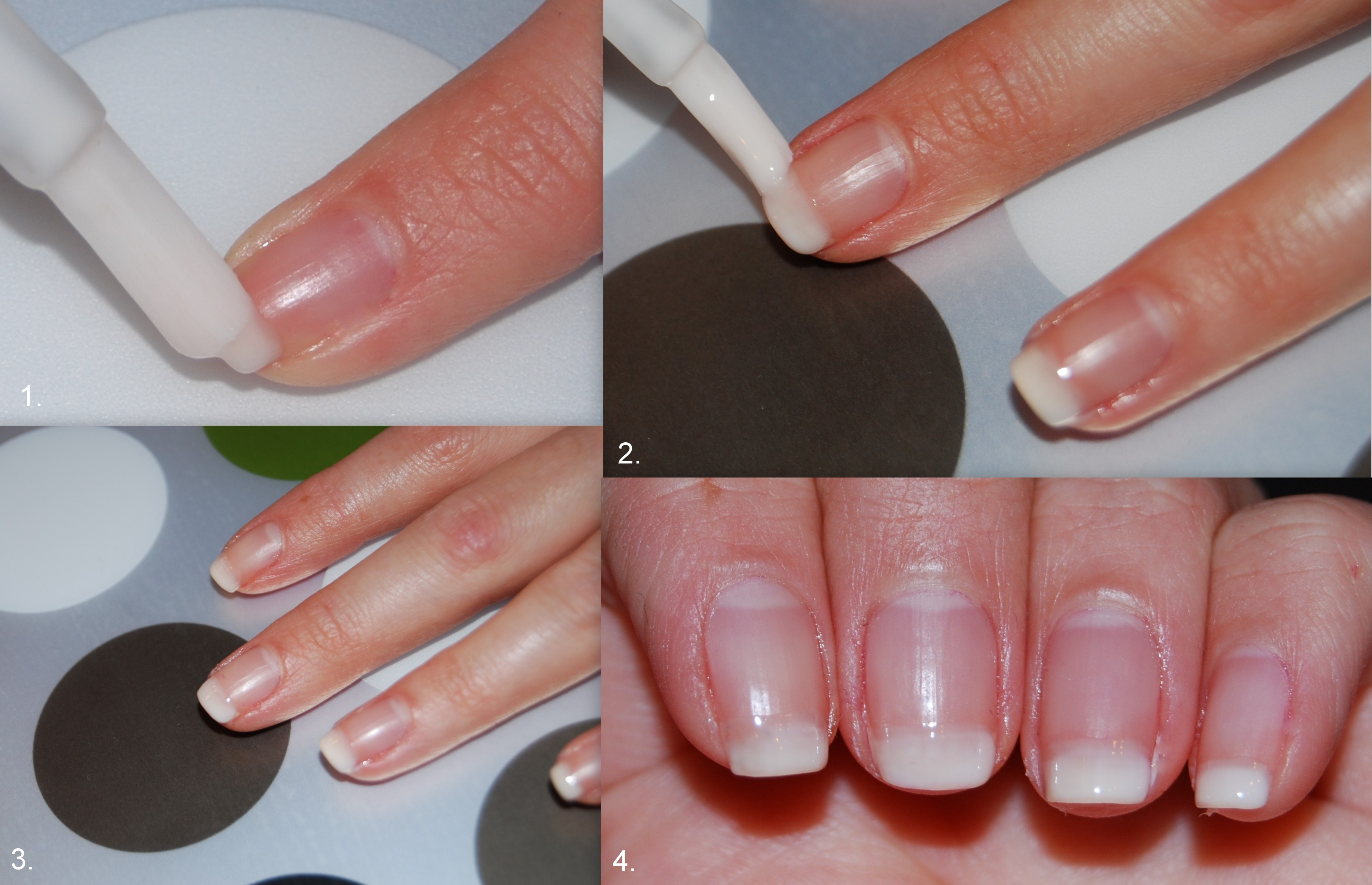 how to make french manicure