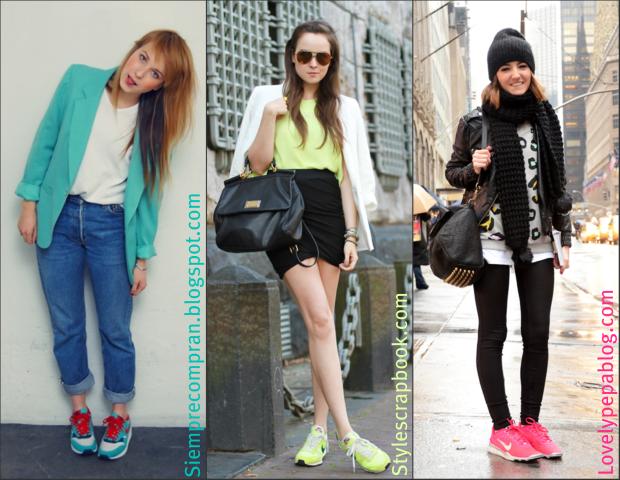 Sneakers onder skinny jeans