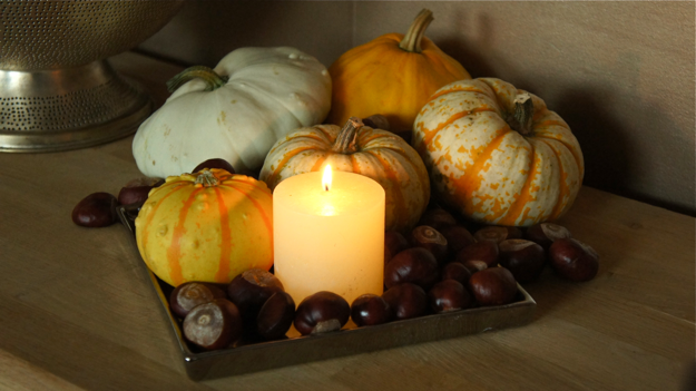 Herfst decoratie in huis 15 for Decoratie herfst