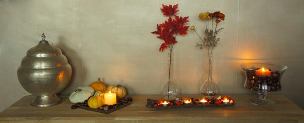 Herfst decoratie in huis 16 for Interieur decoratie eigentijds huis
