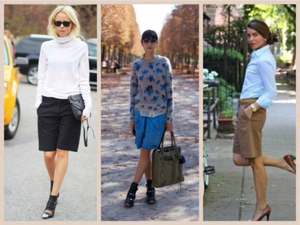 Nette Korte Broek Dames.New Trend Bermuda Shorts Beautylab Nl