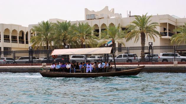 the Dubai Souks