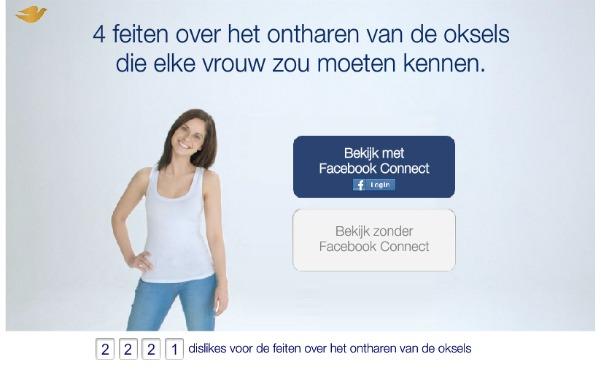 dove facebook