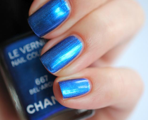 L'Été Papillon de Chanel nagellak swatches
