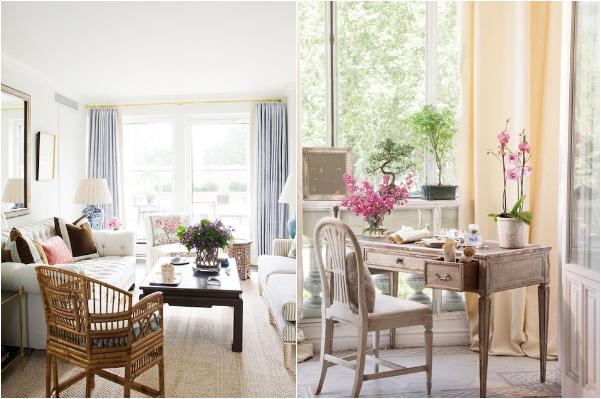 Haal de lente in huis - Versier een kleine woonkamer ...
