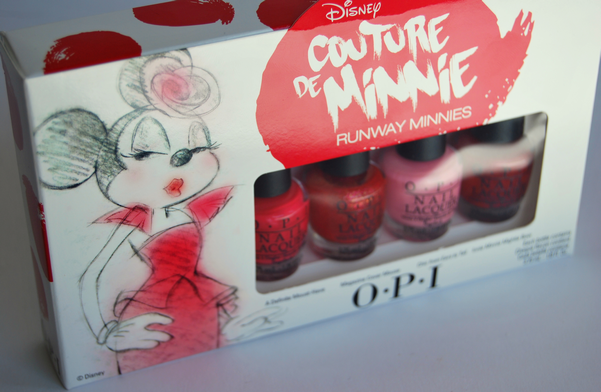 O.P.I Couture de Minnie Runway Minnies review