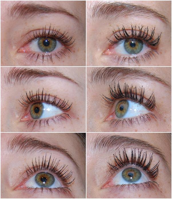 collage voor & na met mascara