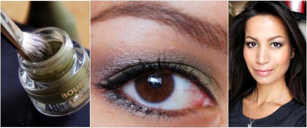 Khaki & Grey eyelook