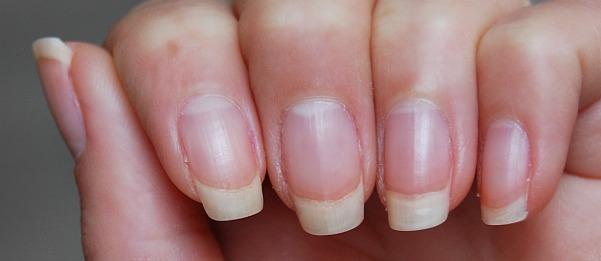 zonder nagellak