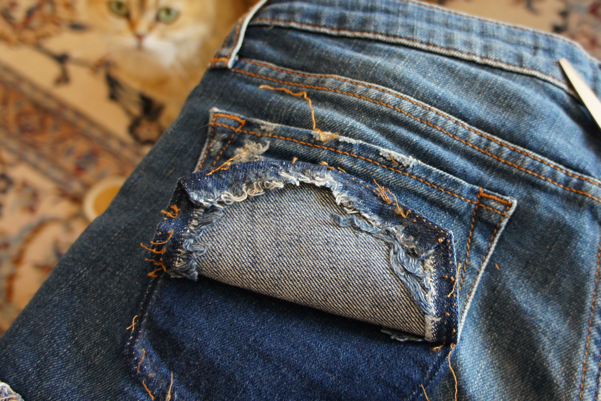 bow jeans pocket diy05