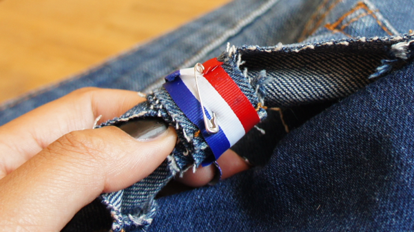 bow jeans pocket diy18