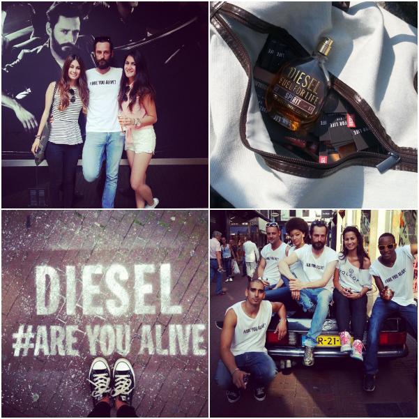 diesel event collage