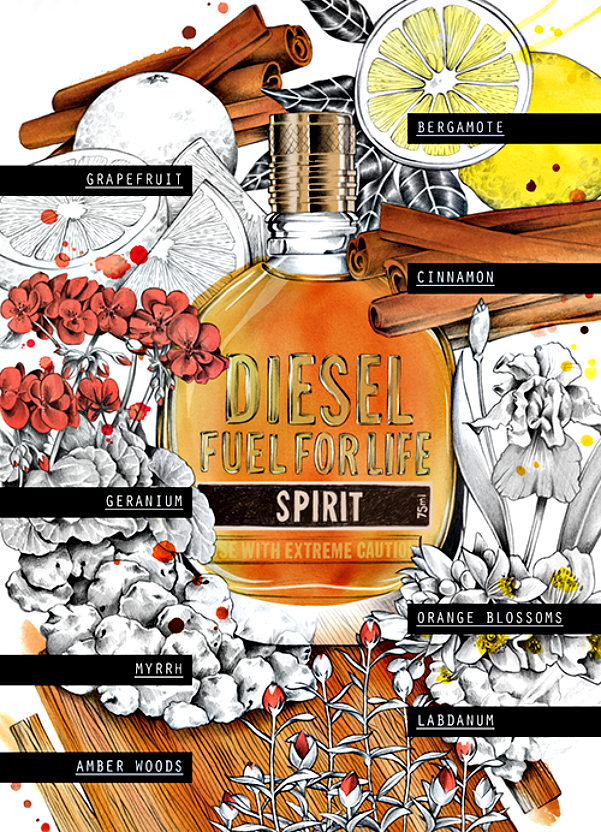 diesel fuel for life fragrance notes