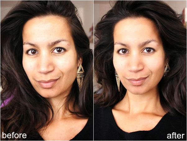 glamglow voor en na