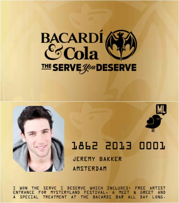 goldcard bacardi
