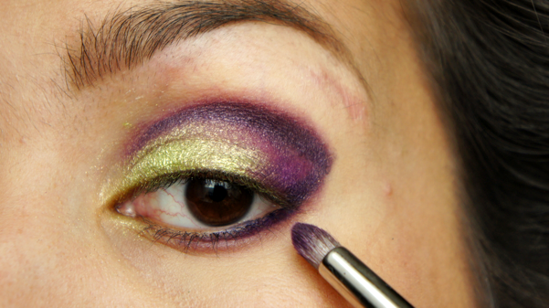 green purple eyelook07