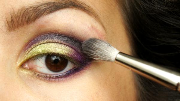 green purple eyelook08