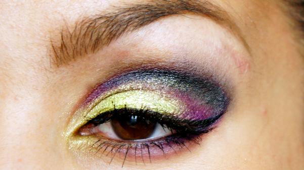 green purple eyelook13