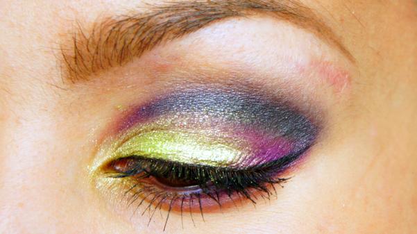 green purple eyelook14