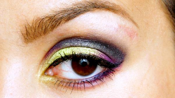 green purple eyelook15