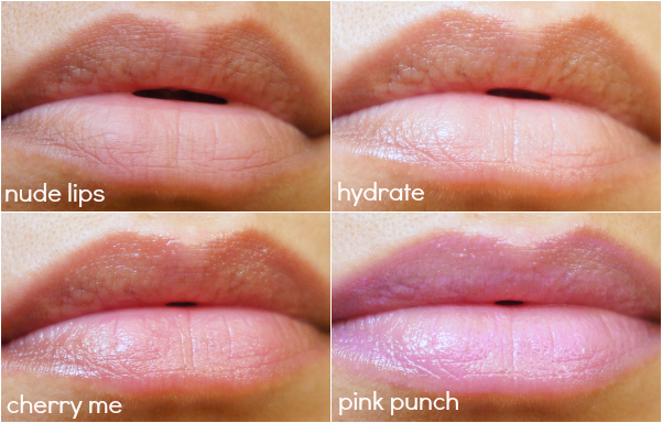 Baby Lips swatches