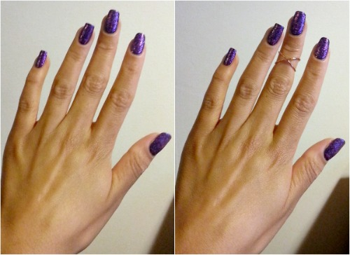 above the knuckle ring makes fingers look longer