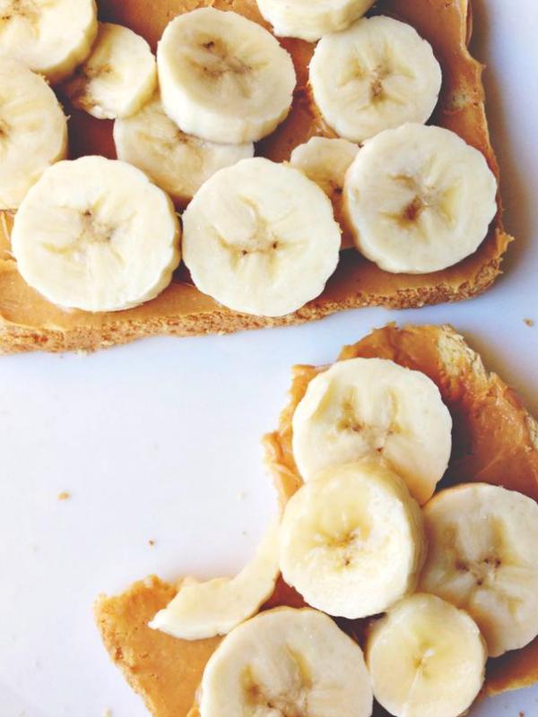 pindakaas banaan