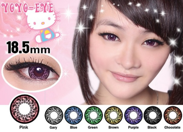 hello kitty contacts