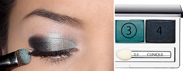 Clinique Galaxy All about shadow quad 3