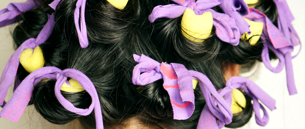 DIY tip: no heat curls