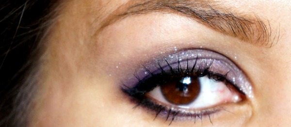 quick one color eyelook