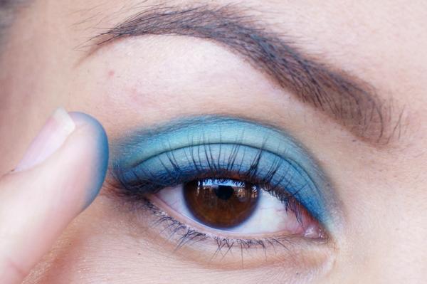Glitter Blue eyelook02