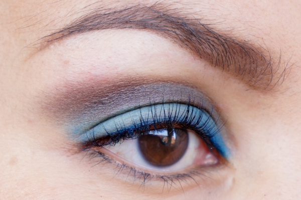 Glitter Blue eyelook04