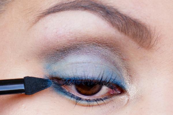 Glitter Blue eyelook08