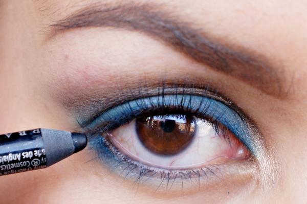 Glitter Blue eyelook09