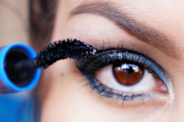 Glitter Blue eyelook12