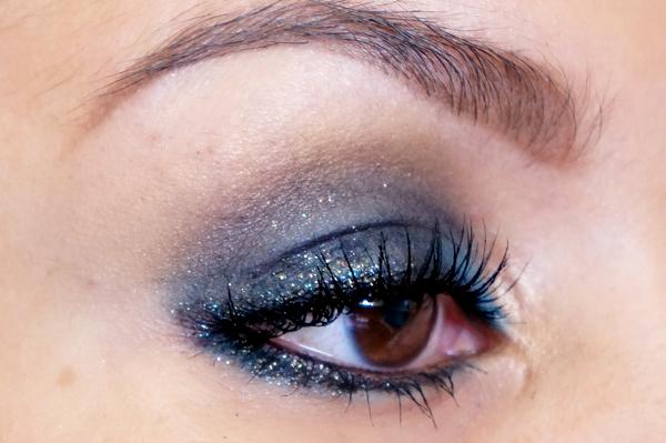 Glitter Blue eyelook13