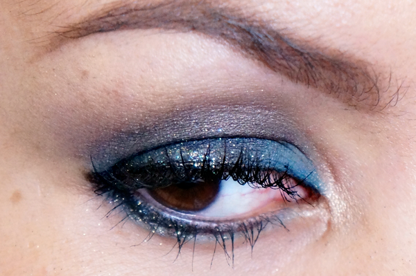 Glitter Blue eyelook14