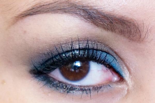 Glitter Blue eyelook15