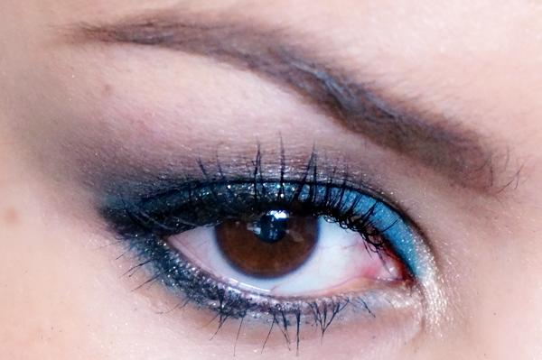 Glitter Blue eyelook16