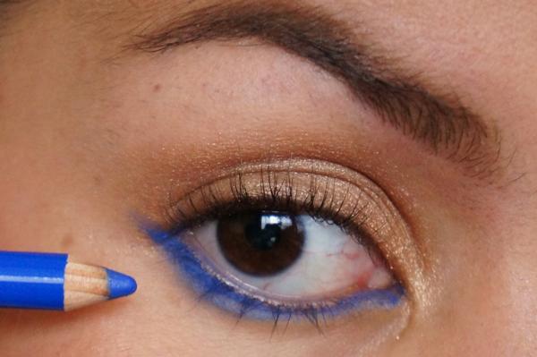 H&M electric blue eye pencil_05