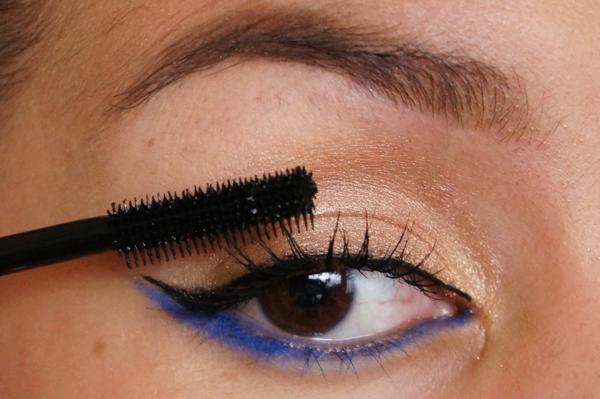 H&M electric blue eye pencil_08