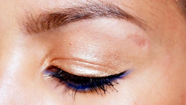 H&M electric blue eye pencil_11