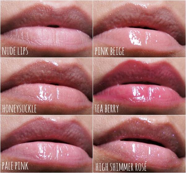 bobbi brown lipgloss collage 2