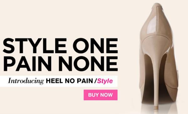 heel no pain