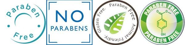 paraben free labels