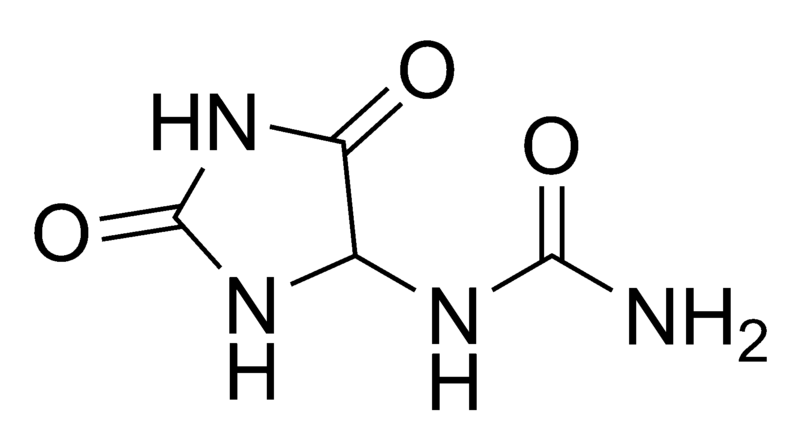 800px-Allantoin_chemical_structure