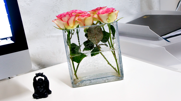 chanel perfume bottle flower vase 1