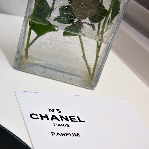 chanel perfume bottle flower vase 2