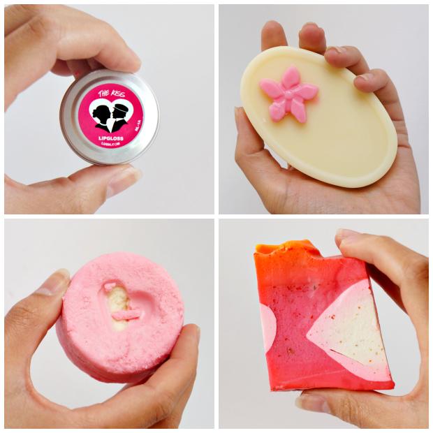 lush valentijn 2014 collage